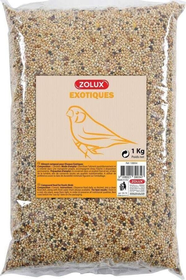 Zolux-Graines pour Oiseaux Exotiques - 5kg