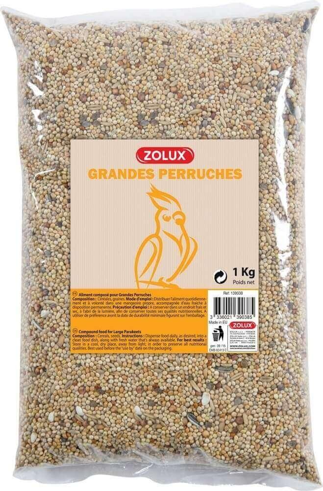 Zolux-Graines pour Grandes Perruches - 5kg