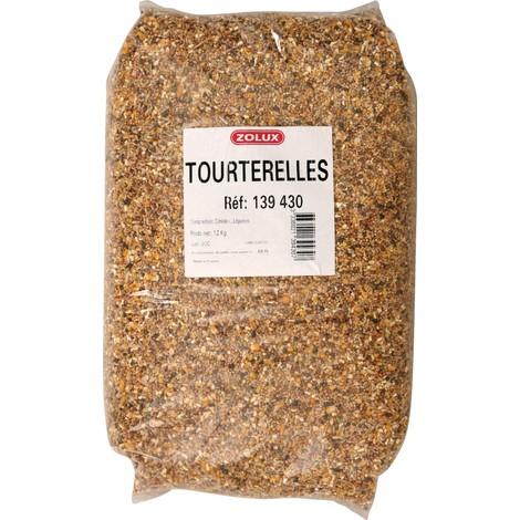 Zolux-Mélange pour Tourterelles - 12kg
