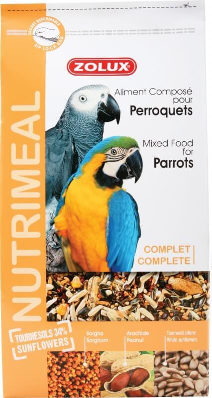 Zolux-Alimentation Perroquet Nutrimeal Standard 2.5kg