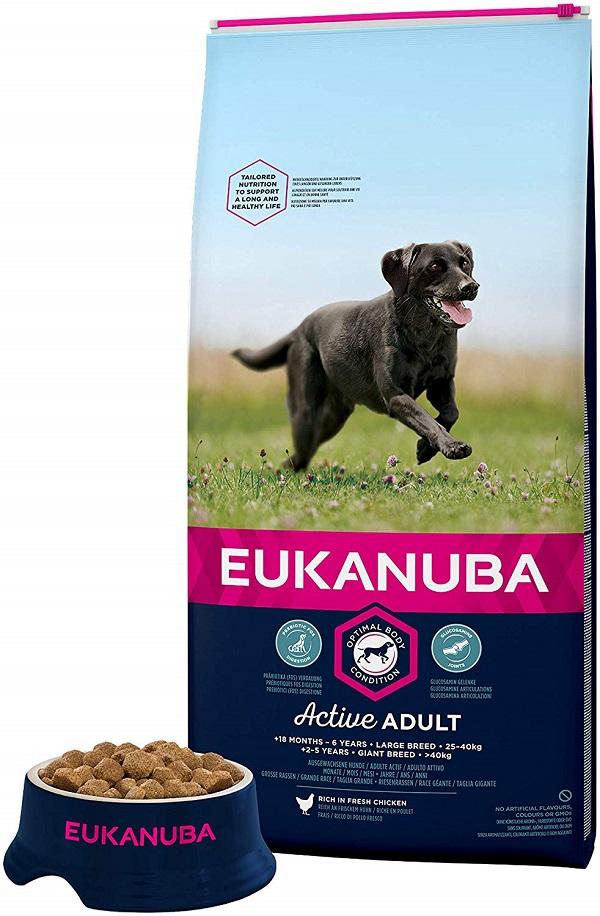 Eukanuba - Croquettes pour Chien Adult Grande Race - Poulet