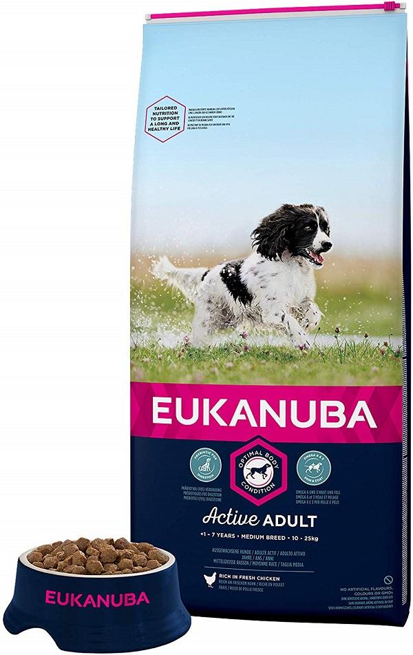 Eukanuba - Croquettes pour Chien Adult Medium Poulet