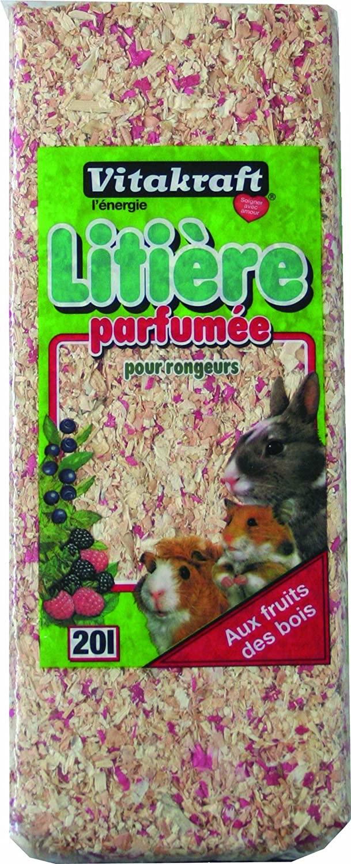 Vitakraft Copeaux Parfumés Fruits des Bois 20l