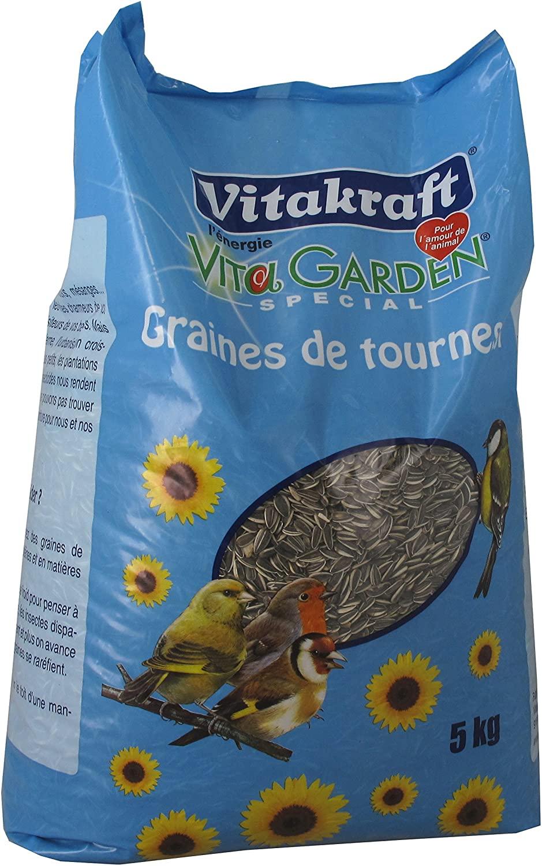 Vitakraft Vital Garden - Graines tournesol 5kg