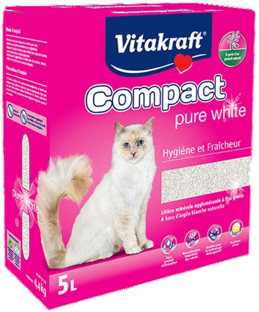 Vitakraft Litiere Compact Pure White 5L