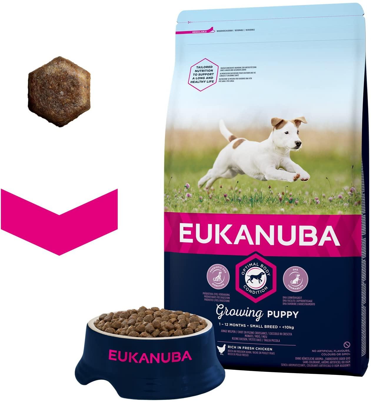 Eukanuba Croquettes pour chiot Poulet