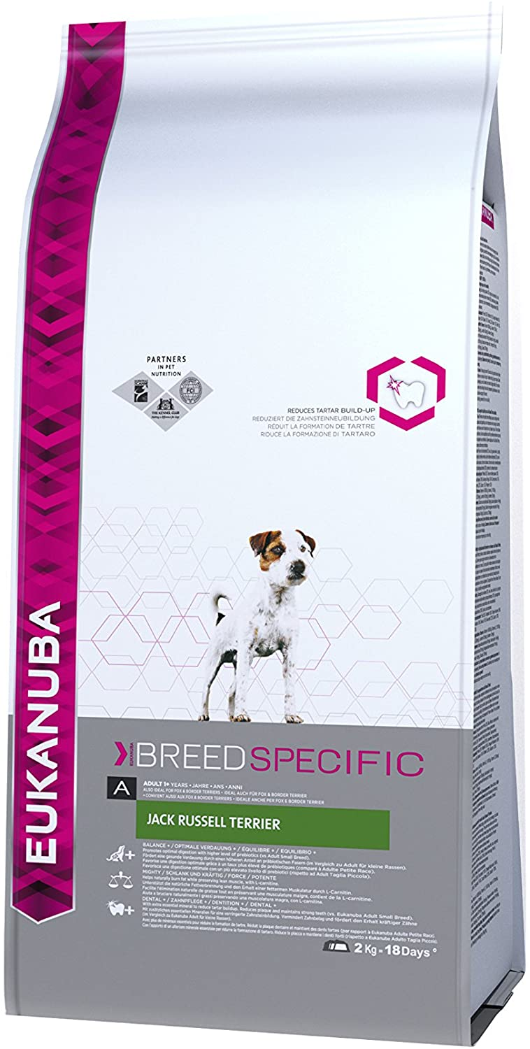 Eukanuba Croquettes Breed Specific pour Jack Russel 2kg