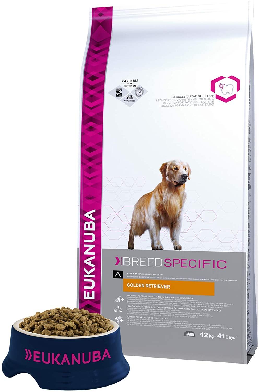 Eukanuba - Croquettes Breed Specific - Chien Adult  Golden Retriver - 12kg