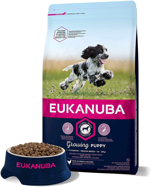 Eukanuba Croquettes pour Chiot Medium
