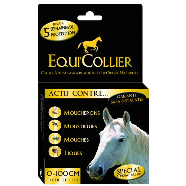 Equi'collier cheval 1 collier Antiparasitaire