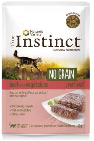 Sachet True Instinct pour Chat - No Grain Boeuf noszanimos
