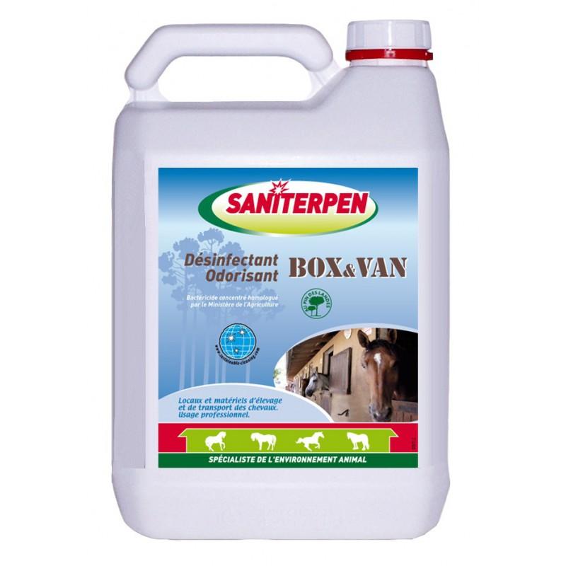 SANITERPEN D'sinfectant pour Box et Van