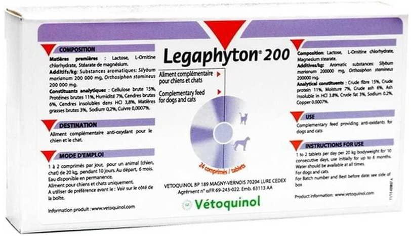 LEGAPHYTON 200  Boite de 24 Comprimes