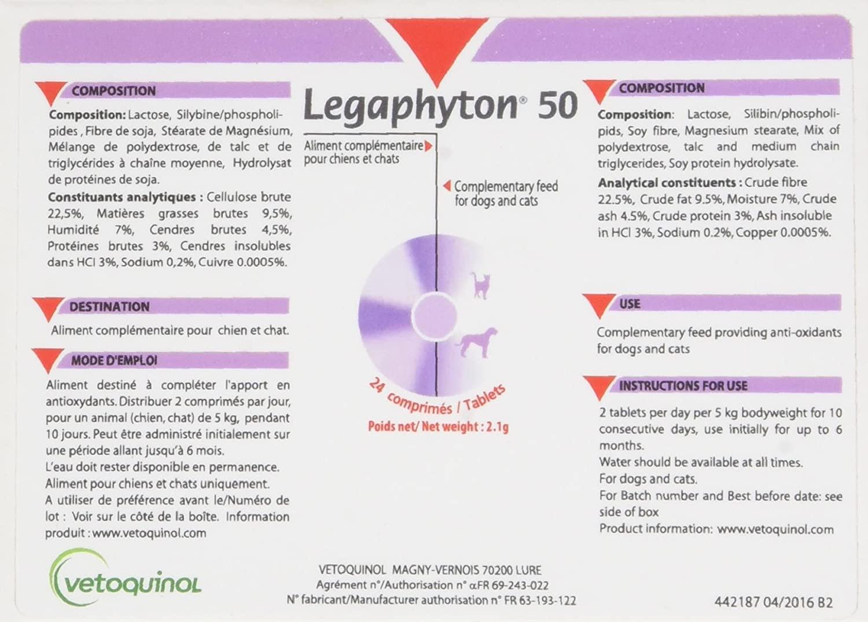 LEGAPHYTON 50  Boite de 24 Comprimes