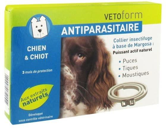 VETOFORM - Collier Antiparasitaire pour Chien et Chiot