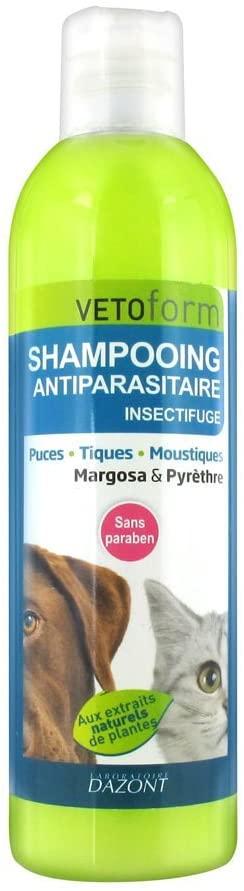 Vetoform Shampoing Antiparasitaire Insectifuge noszanimos