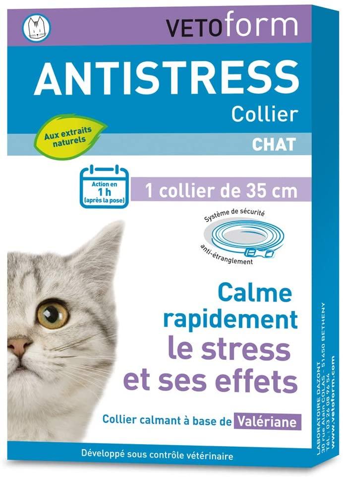 VETOFORM Collier Anti-Stress pour Chat noszanimos