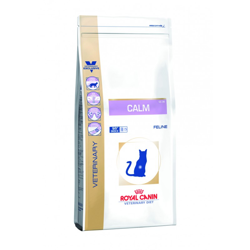 Croquettes Royal Canin Veterinary diet cat calm