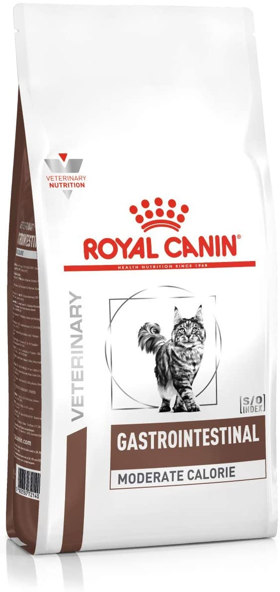 Croquettes Royal Canin Veterinary diet - Gastro Intestinal Moderate Calorie pour Chat