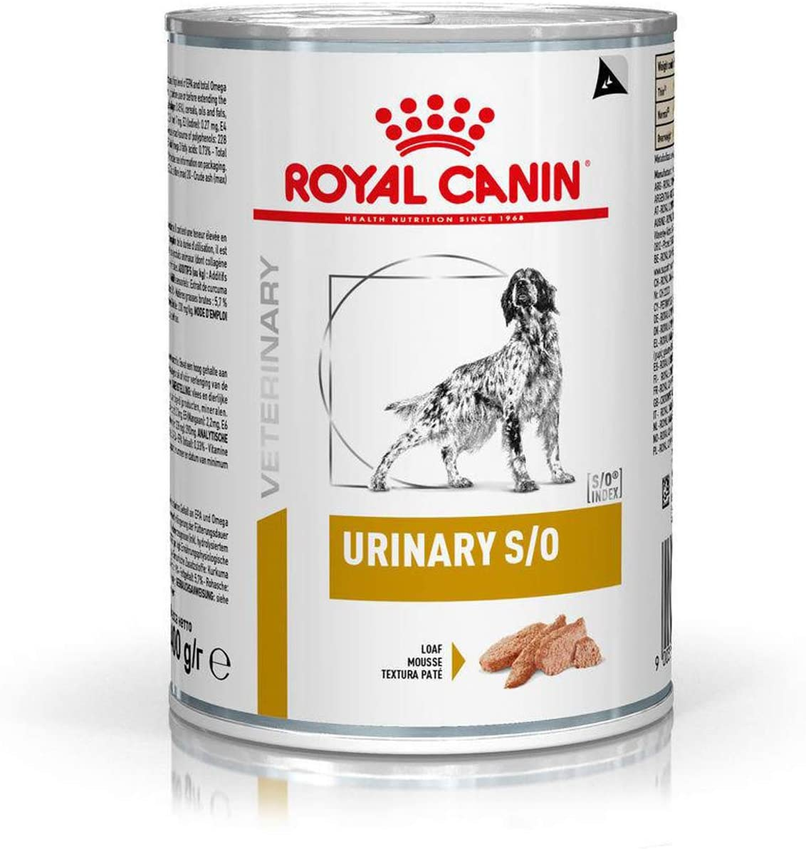 Royal Canin Veterinary diet - Boite Dog Urinary S/0 - 12 x 410g