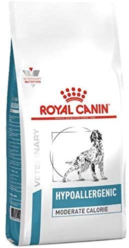 Croquette Royal Canin Veterinary diet dog hypoallergénique modérate calorie