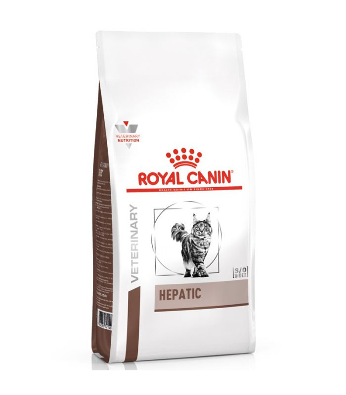 Croquettes Royal Canin Veterinary diet cat hepatic