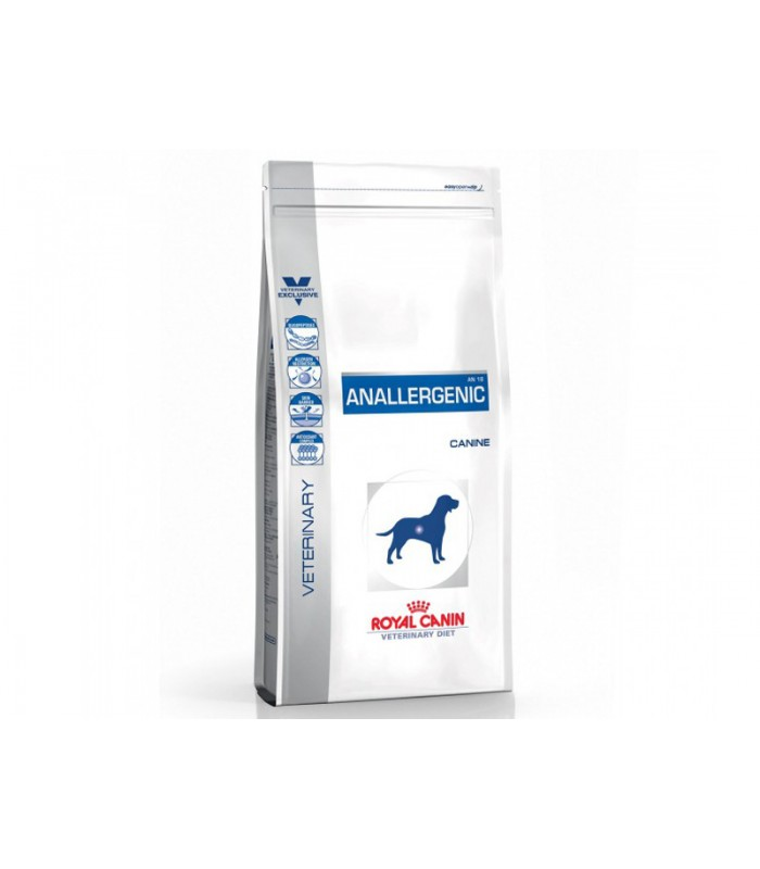Royal Canin Veterinary diet dog anallergenic 3kg NosZanimos