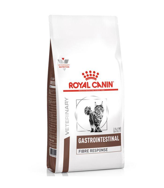 Croquettes Royal Canin Veterinary diet cat fibre response