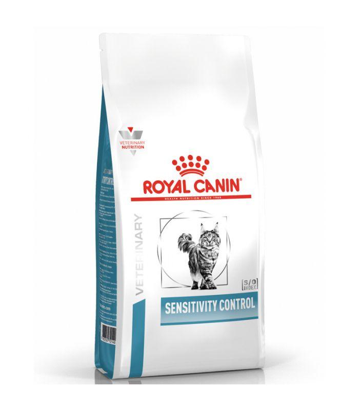 Croquettes Royal Canin Veterinary diet cat sensitivity control