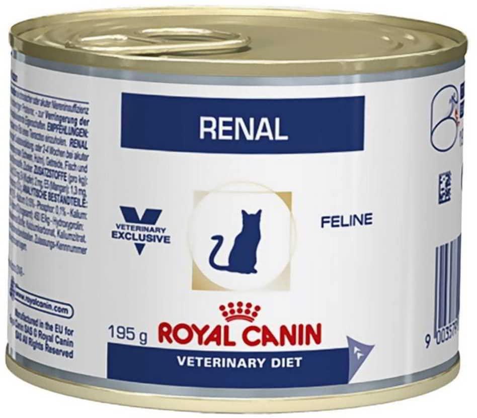 Royal Canin Veterinary Diet Cat Renal Poulet 12x195g NosZanimos