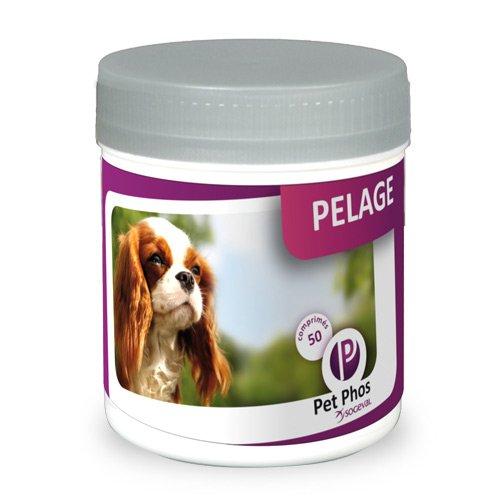 Pet-Phos Pelage Canin - 50 comprimŠs