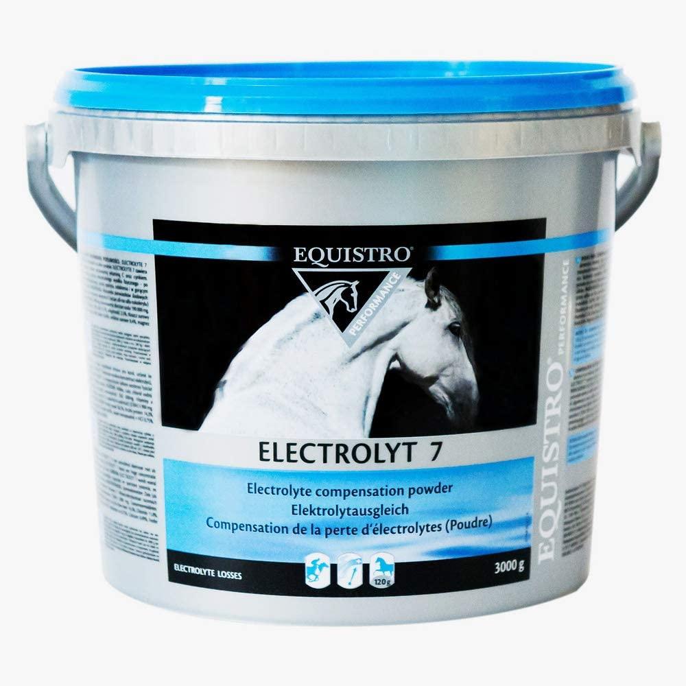 Equistro Electrolyt 7 récupération du cheval sudation 3kg NosZanimos