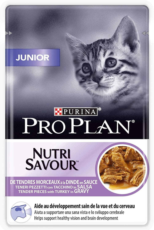 Purina Proplan Cat Nutrisavour Junior Dinde pochons 85 grs NosZanimos