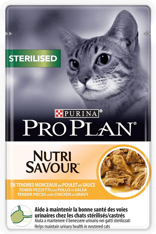 Purina Proplan Sachets pour Chat Nutrisavour Junior Poulet 24 x 85 grs