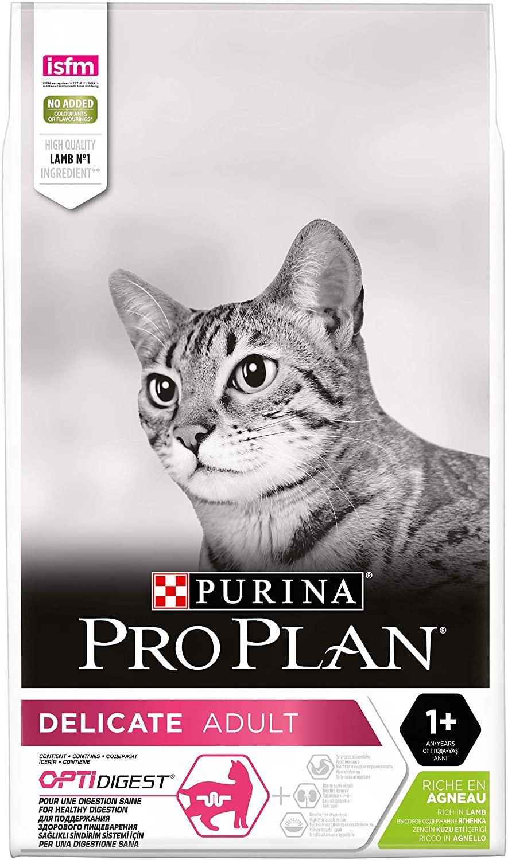 Croquettes Purina Proplan Delicate pour chat adulte - Agneau