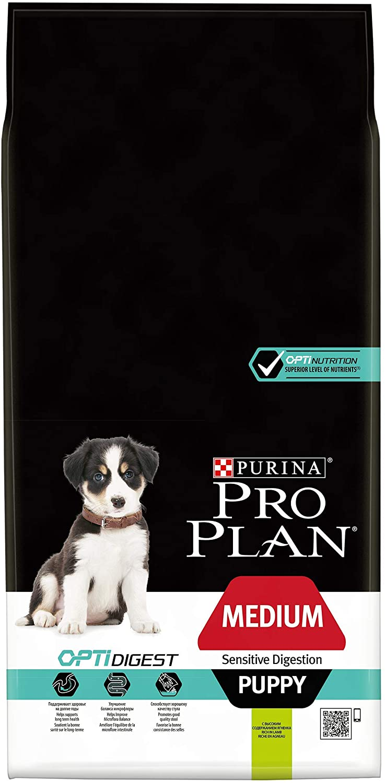 Croquettes Purina Proplan Medium Puppy Sensitive Digestion - Agneau