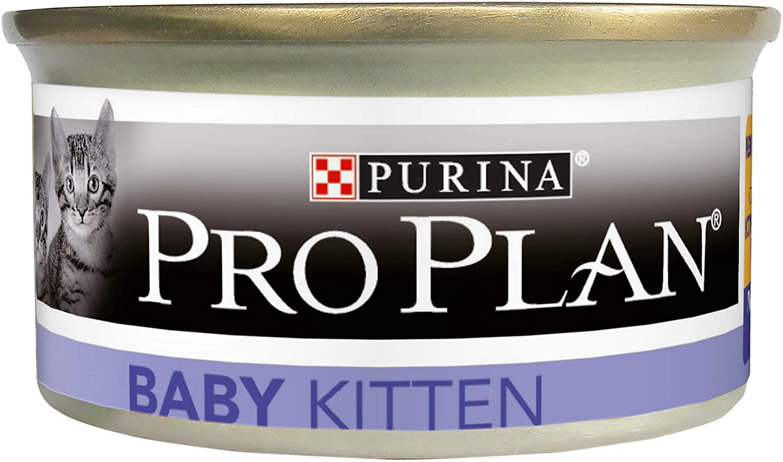 Purina ProPlan Kitten Boite Poulet - Lot 24 x 85g