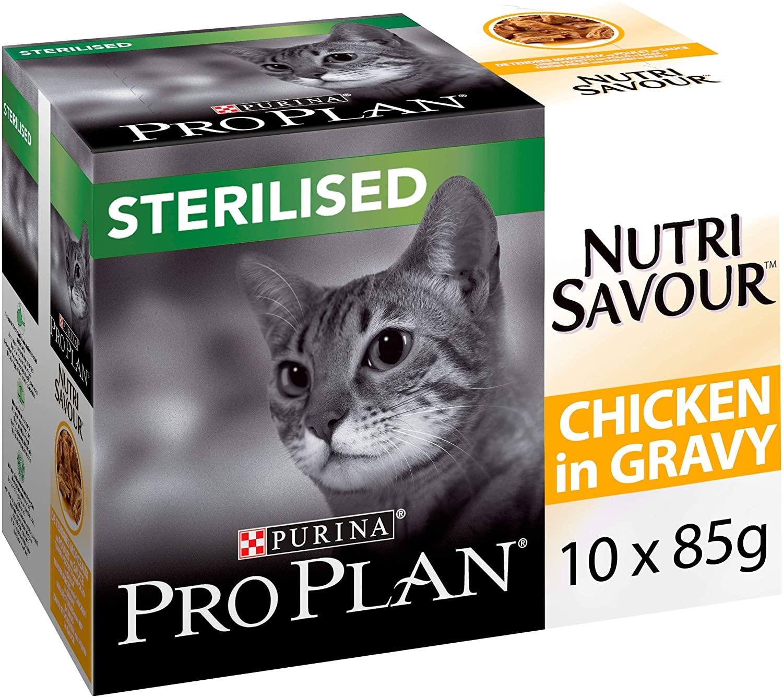 Purina ProPlan Sachet fraîcheur Housecat - Poulet - 10x85g - Lot de 4