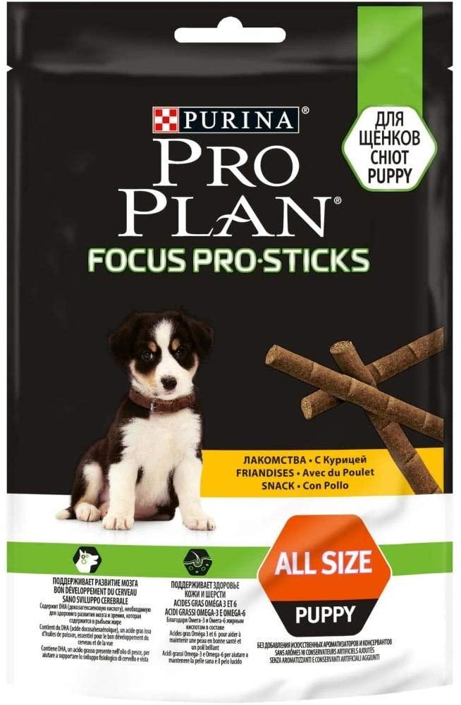 Purina ProPlan Focus Pro Sticks Poulet - lot de 8