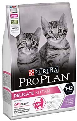 Croquettes Purina ProPlan Chat Delicate Kitten OptiDigest Dinde 3kg