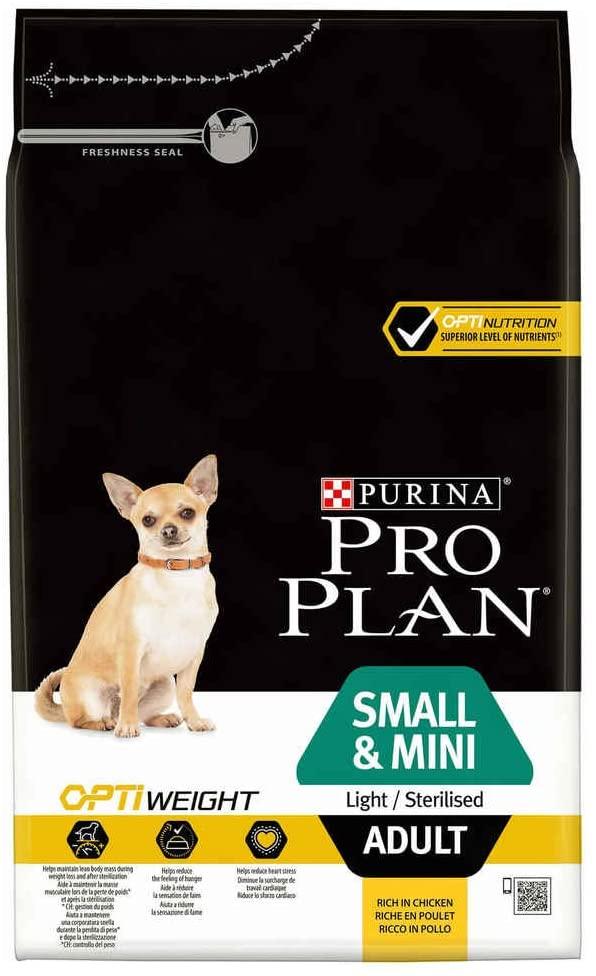 Croquettes Purina ProPlan Small & Mini Adult Light / Sterilised 7kg
