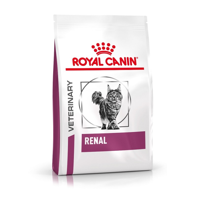 Croquettes Royal Canin Veterinary diet cat renal