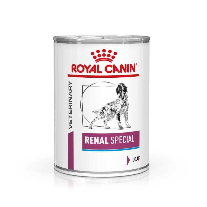 Royal Canin Veterinary diet dog renal special - Boite 410gr