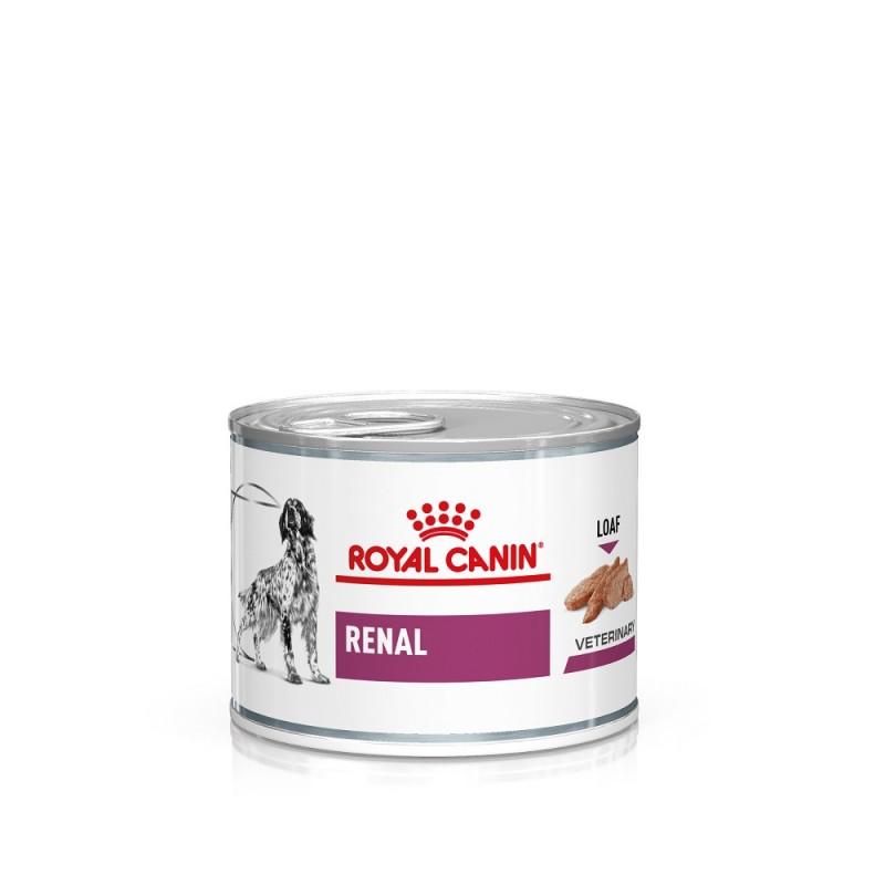 Royal Canin Veterinary diet dog renal - 12 Boites 200gr