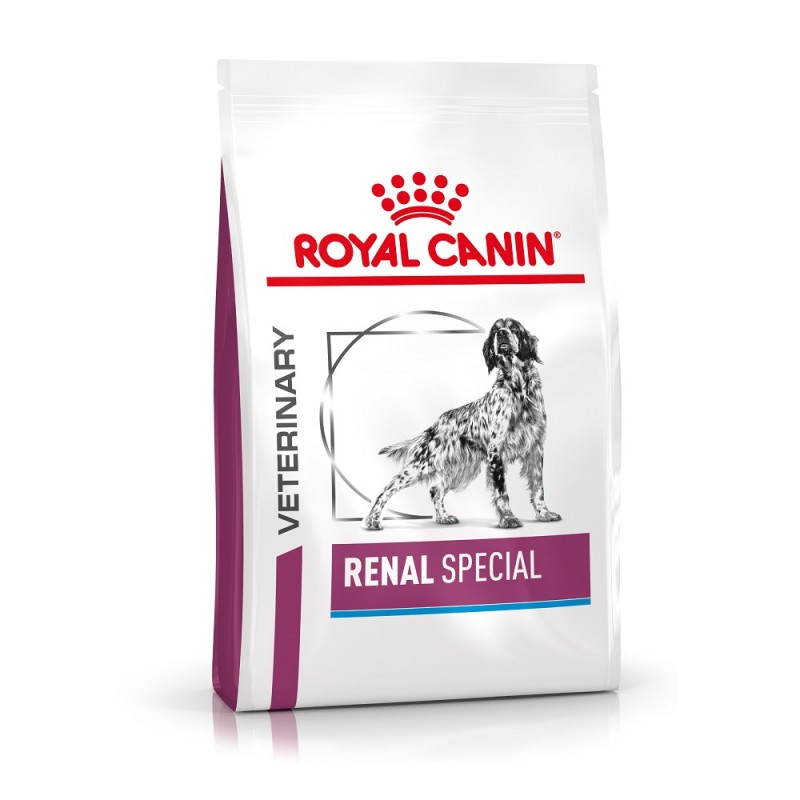 Croquettes Royal Canin Veterinary diet dog renal special