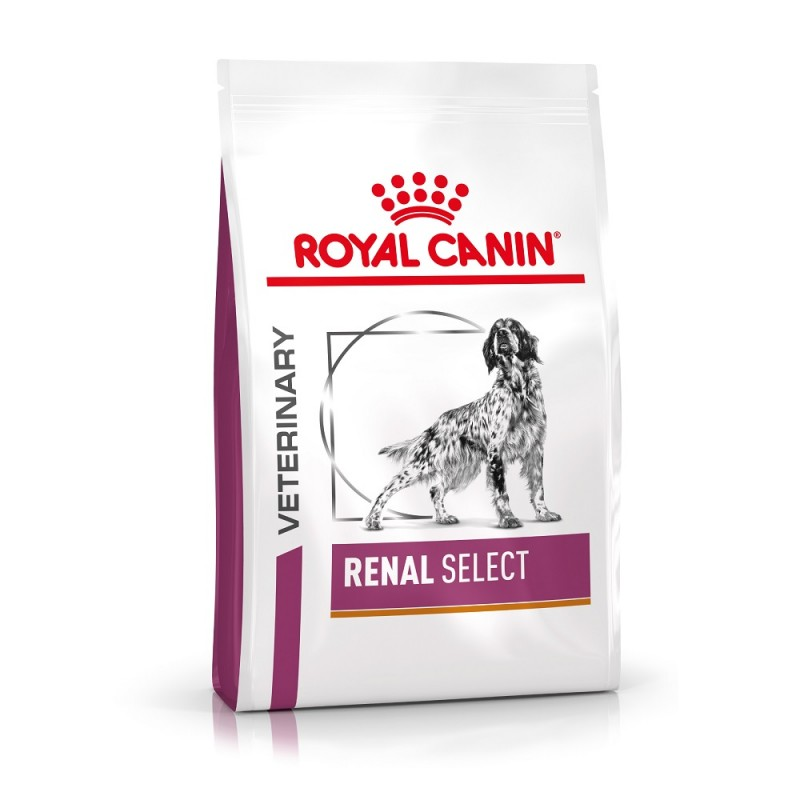 Croquettes Royal Canin Veterinary diet dog renal select