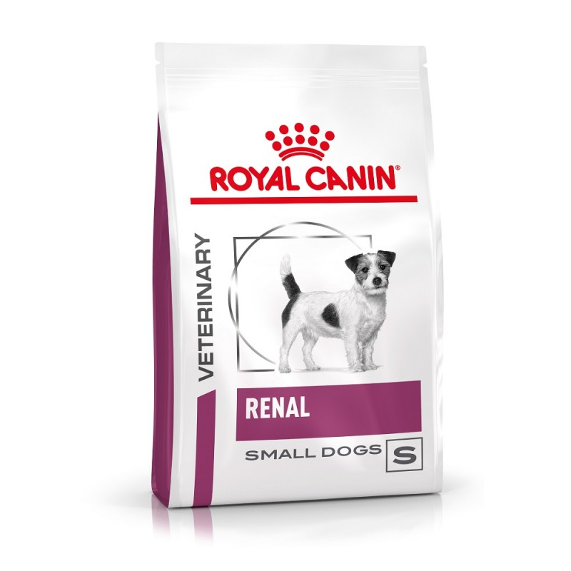 Croquettes Royal Canin Veterinary diet dog renal small