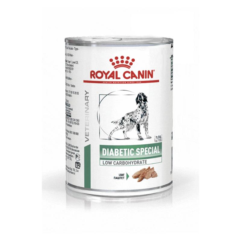 Royal Canin Veterinary diet dog diabetic special - Boite de 410g