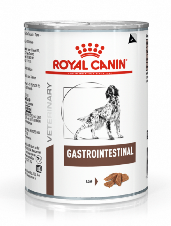 ROYAL CANIN Veterinary Diet dog - Gastro Instestinal - Boites 400gr