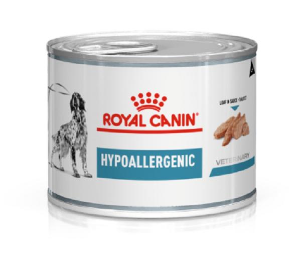 Royal Canin Veterinary diet dog Hypoallergenic boite 200g -NosZanimos